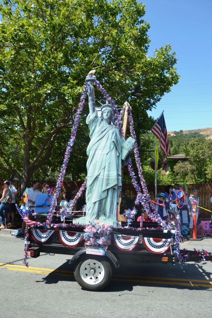 (Sally Hogarty, Photographer)Liberty is back as COVID-19 restrictions are reduced and the parade goes on!