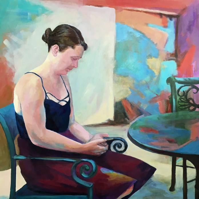 """Ruth Stanton, """"Calm within Chaos"""""""