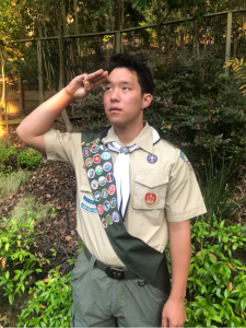 (Andy Pines, Photographer)Owen Pines of Troop 303 in Orinda attained Scouts BSA's highest rank, Eagle Scout, on Sept. 22, 2020. Due to COVID-19 delays, his formal recognition ceremony, the Eagle Court of Honor, took place on July 18, 2021 at Orinda Community Church.