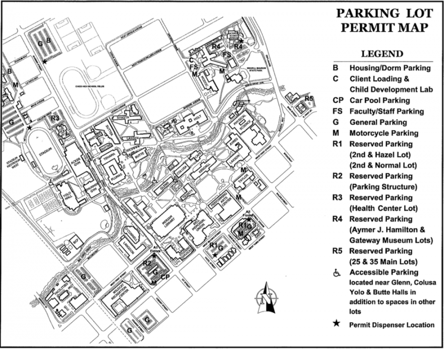 Campus parking hassles students