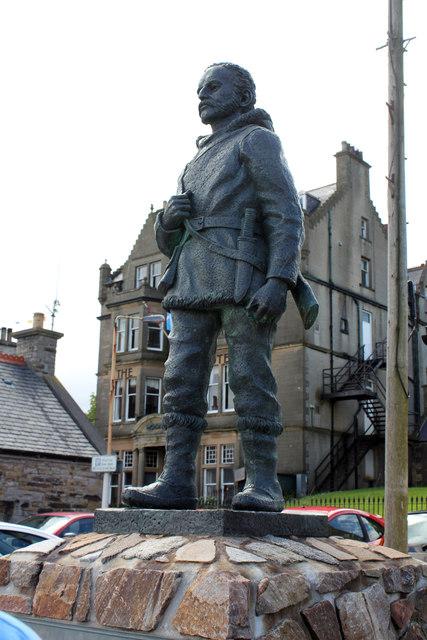 John Rae statue (2013) © Copyright Jo Turner