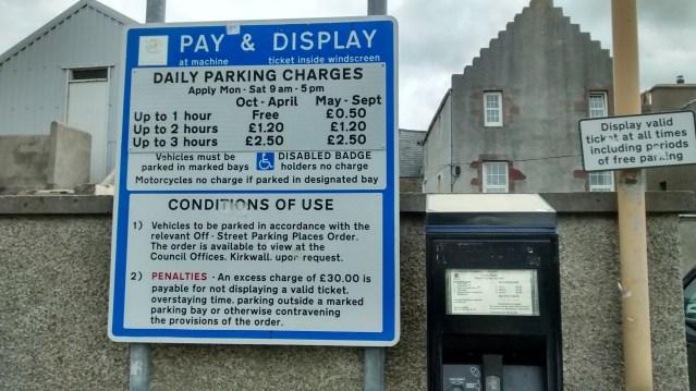 Car parks Kirkwall
