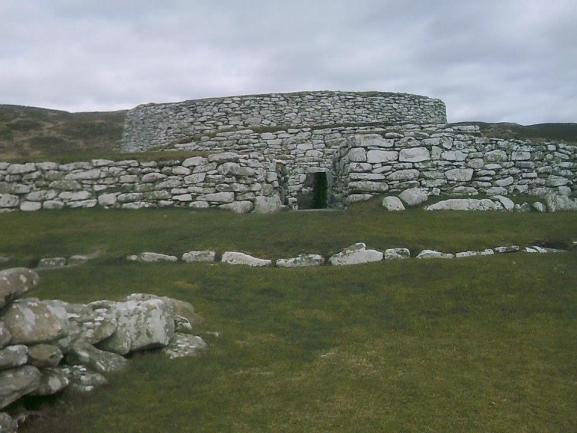 Clickimin Broch Shetland