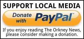 paypal donate to the Orkney News