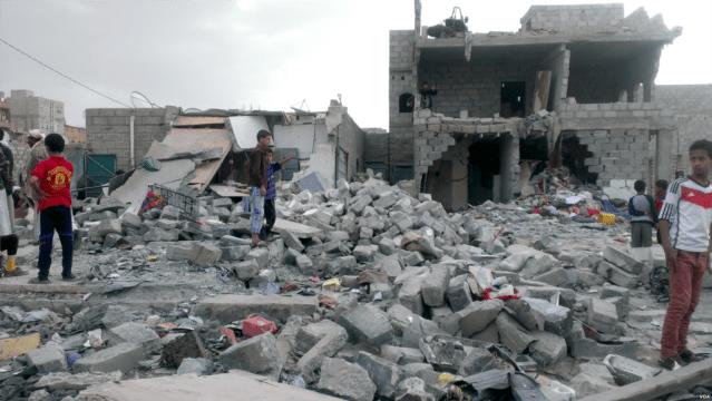 Airstrike in Yemen