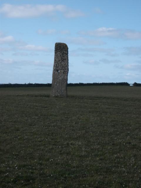 North Ronaldsay stone the Stan stane