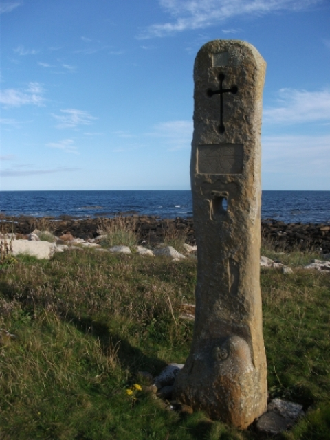 stone number 3 near Kirkhouse, South Ronaldsay