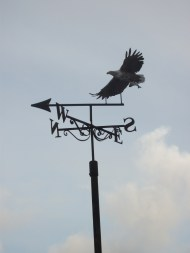 weather vane B Bell