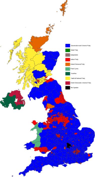 UK General Election result 2017