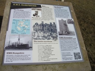Hampshire information board B Bell