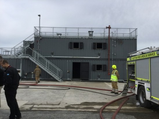 New fire fighting facility Kirkwall