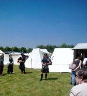 Re enactment Festival N Morrison piper