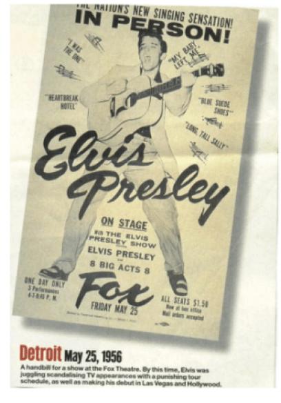 Elvis poster E Keyes