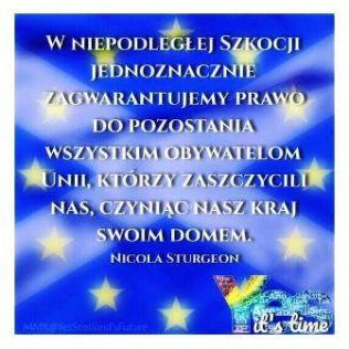Polish version of EU welcome
