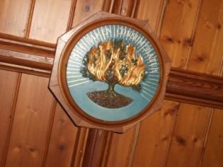 Sheila Fleet Gallery ceiling Burning Bush B Bell