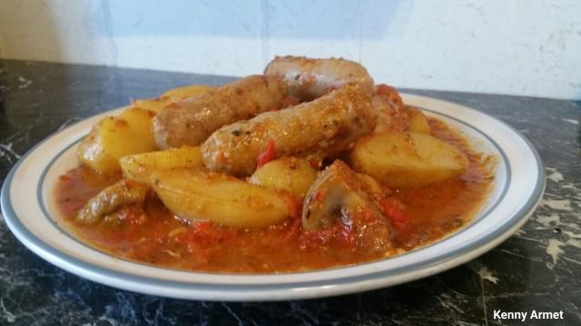 Summer Sausage Stew