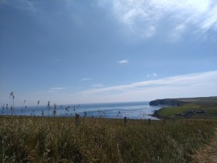 Looking towards Windwick Bay from The Cairns
