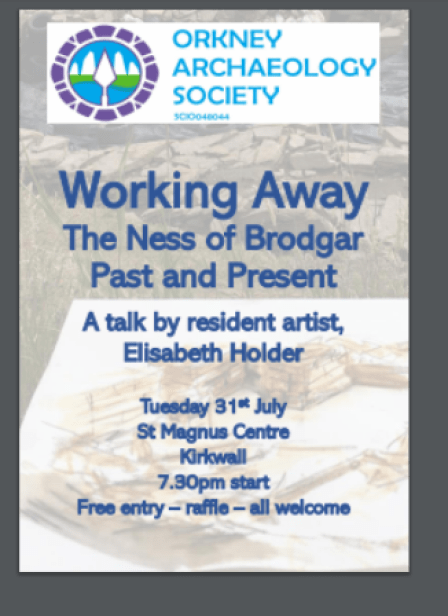 Ness of Brodgar talk