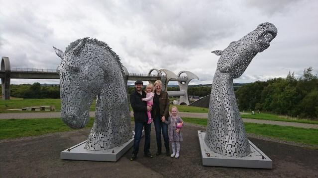 Gareth, Pat, Leila and Eloise