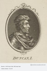 King Duncan Of Scotland