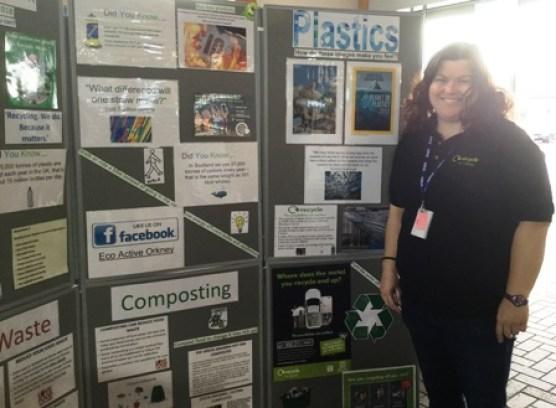 Carol Campbell Recycling week