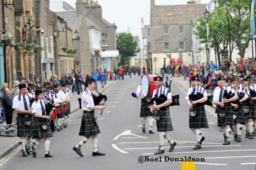 Kirkwall City Pipe band 2
