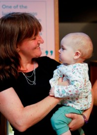 Maree Todd with baby