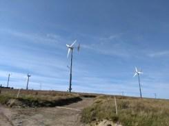wind turbines Burgar Hill