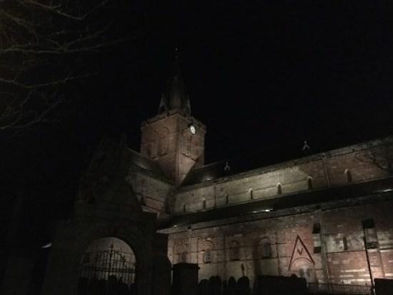 St Magnus at night