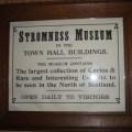 Stromness Museum sign