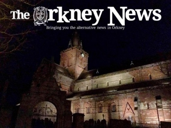 The Orkney News and St Magnus Cathedral small