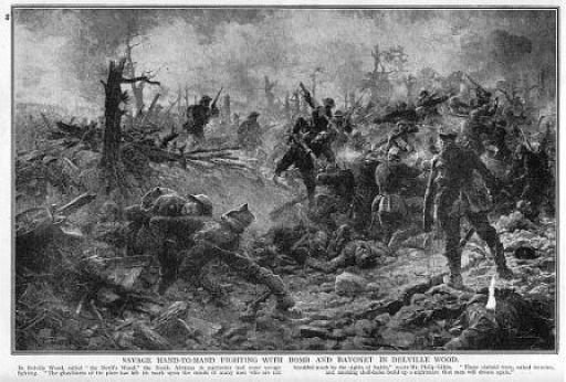 Delville Wood Battle July 1916