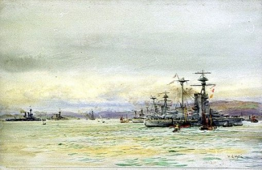 Grand Fleet at Scapa Flow
