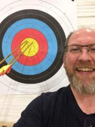 Paul Rendall with his three-gold End