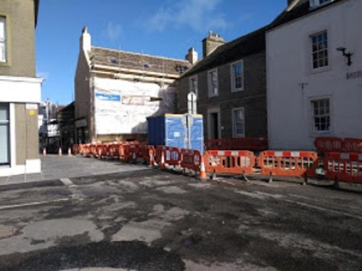 Kirkwall road works 1