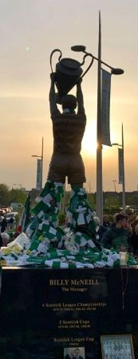 Billy McNeill sunset by Derick Mullin