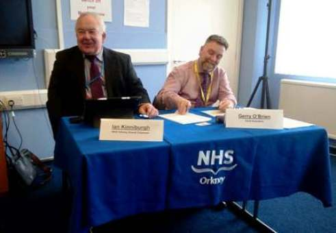 NHS Orkney Board annual review 2