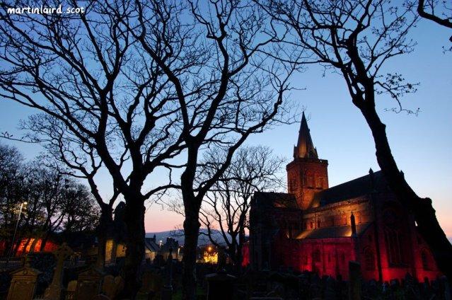 St Magnus Cathedral Go Orange