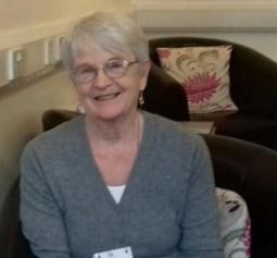 Freda Findlay CLAN volunteer Orkney