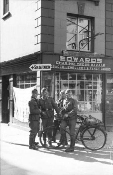 German soldiers in Channel Islands