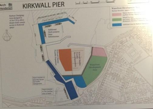Kirkwall Pier plan