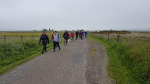 St Magnus Way Dounby walkers