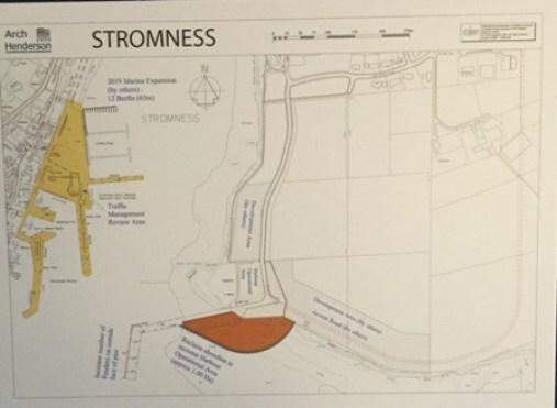 Stromness harbour plan