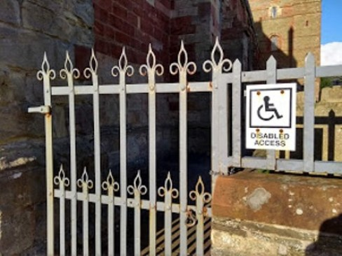 disabled access St Magnus Cathedral