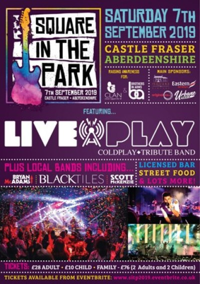 Square in the Park flyer