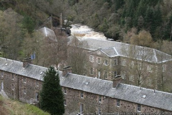 New Lanark by David Robinson