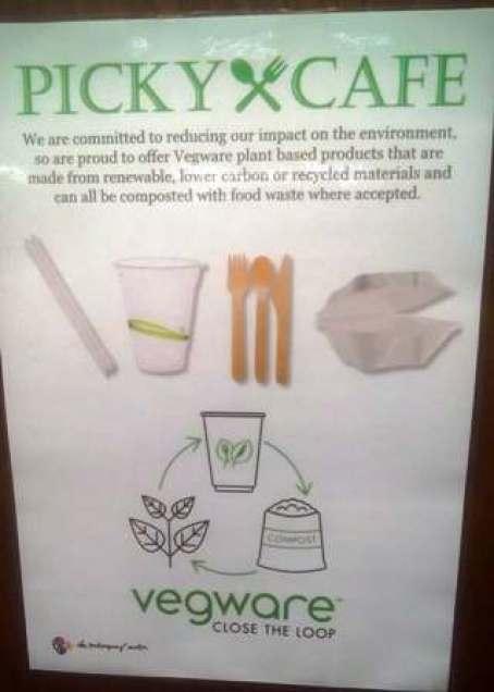 Picky Cafe Veg Ware NM