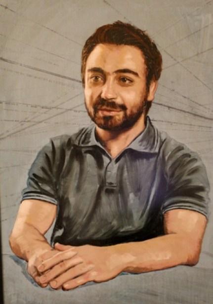 Zaher portrait