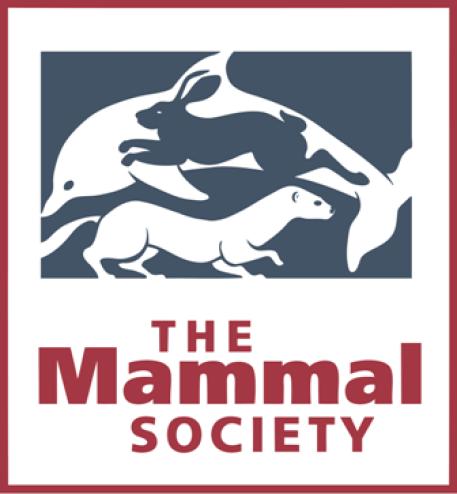 Colour Logo original red border Mammal Society