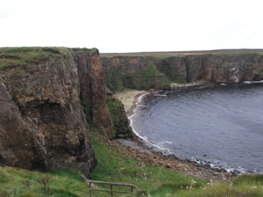 Gloup walk - Brough at Deerness Bell